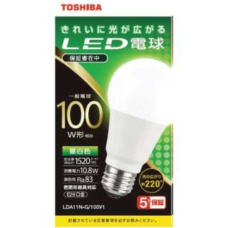 LED電球 全方向 昼白色 100W形相当 LDA11N-G/100V1