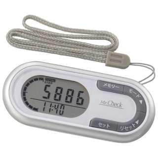 3Dセンサー歩数計 HB-K700-S シルバー [装着フリー]