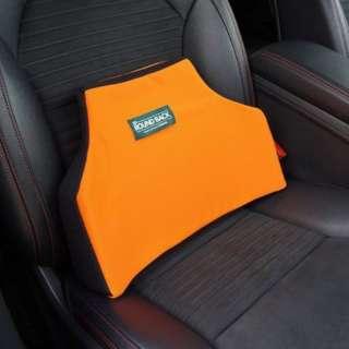 02502 シートクッション ボディドクター 3D ラウンドバック カリフォルニアオレンジ