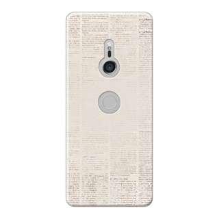 Xperia XZ3 PCケース セカンドハンドブック 01-0105-0006-c15-xtz3-m01 セカンドハンドブック