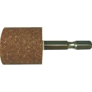 RELIEF 六角軸 軸付砥石 金属用(WA) 円筒型 φ25×25mm 27801