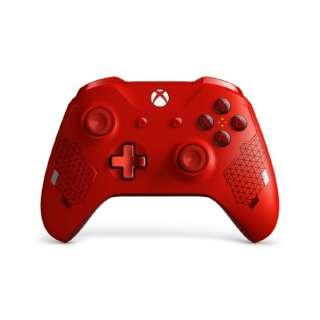 【純正】Xbox ワイヤレス コントローラー スポーツレッド WL3-00129 【Xbox One】