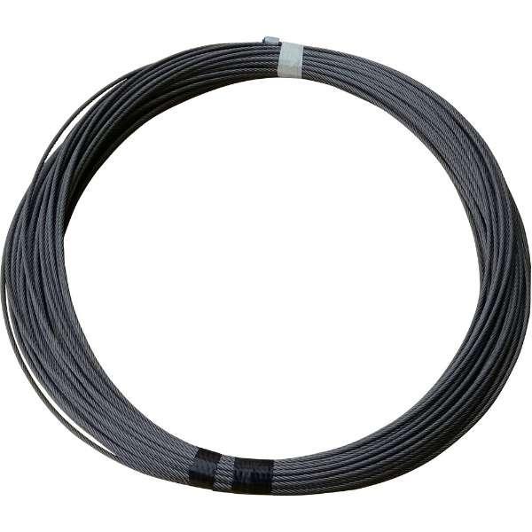 TKK MA-650M,MA-650L専用交換ワイヤロープ ワイヤロープ φ5×40M (麻芯6×19) 5X40M MA-650