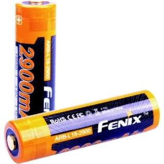 """FENIX リチウムイオン専用充電電池  """"ARB-L18-2900"""" ARB-L18-2900"""