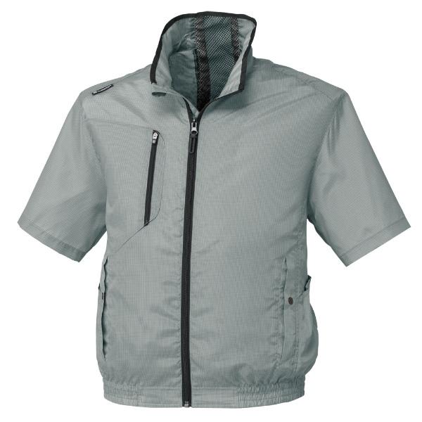 コーコス エアーマッスル半袖ジャケット G-52103グレー SS G-5210