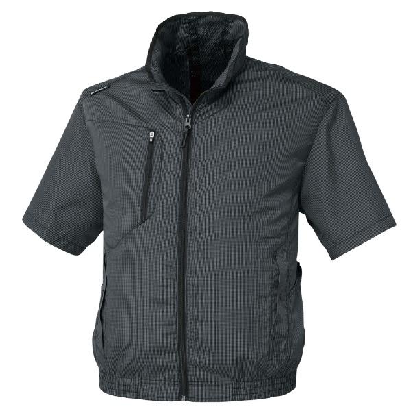 エアーマッスル半袖ジャケット G-5210 13ブラック 5L G-5210