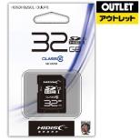 【アウトレット品】 SDHCカード HIDISC HDSDH32GCL10UIJP3 [32GB /Class10] 【数量限定品】