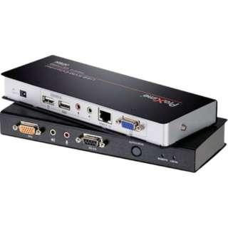 ATEN KVMエクステンダー USB/オーディオ/RS-232対応 CE770