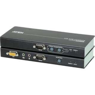 ATEN KVMエクステンダー USB/VGA/オーディオ/カテゴリ5e (1,280×1,024@200m) CE750A