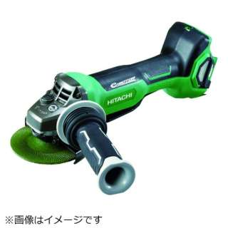 HiKOKI 36Vコードレスディスクグラインダ100mm ブレーキ・パドルスイッチ 新マルチ本体のみ G3610DB-NN