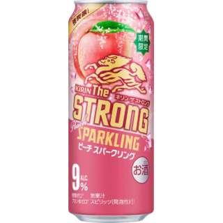 [数量限定] キリン・ザ・ストロング ピーチ (500ml/24本)【缶チューハイ】