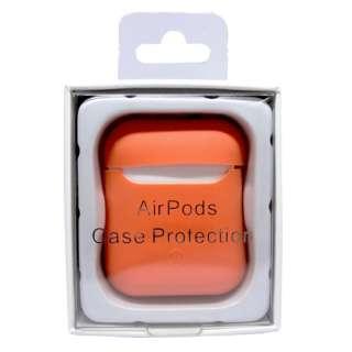 AirPods用 スマートシリコンカバー オレンジ