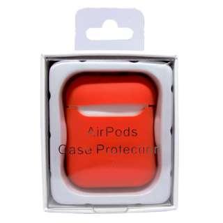 AirPodsケース用 スマートシリコンカバー レッド