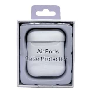 AirPods用 スマートシリコンカバー ホワイト