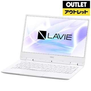 【アウトレット品】 12.5型ノートPC[Win10 Home・Celeron・SSD 128GB・メモリ 4GB] LAVIE Note Mobile PC-NM150KAW  パールホワイト 【外装不良品】