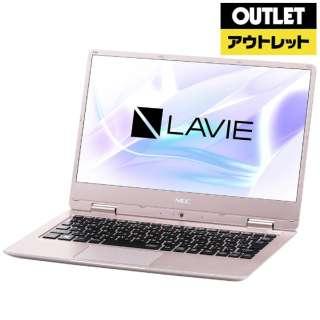 【アウトレット品】 12.5型ノートPC [Win10 Home・Celeron・SSD 128GB・メモリ 4GB] LAVIE Note Mobile PC-NM150KAG メタリックピンク 【外装不良品】