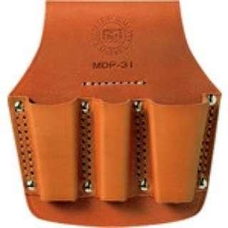 マーベル 牛皮革製電工ポケット ペンチ差し MDP-31