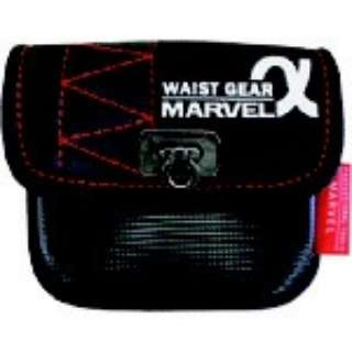 マーベル WAIST GEAR(小物入れ 角底タイプ)レッド MDP-71AR