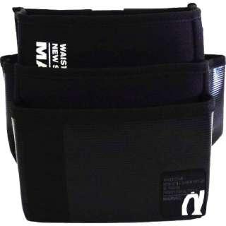 マーベル WAIST GEAR(腰袋ワイド三段タイプ)ブラック MDP-93ABKL