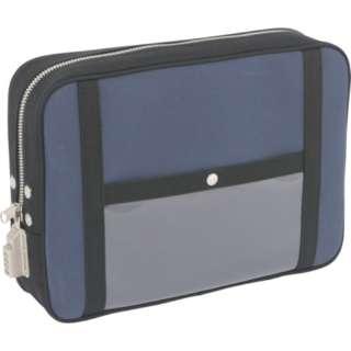SANEI 帆布メール用ポーチ(LL)SED-1錠付 紺 PLL-SED-03