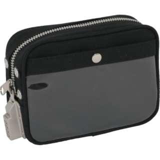 SANEI 帆布メール用ポーチ(SS)SED-1錠付 黒 PSS-SED-01
