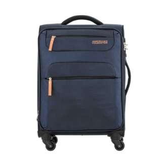 SKI SPINNER 68/25 TSA 超軽量スーツケース ネイビー/オレンジ [60/67L]