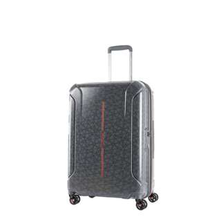 スーツケース 73L(84.5L) TECHNUM(テクナム) GREY SPIRAL PRINT 37G-38015 [TSAロック搭載]