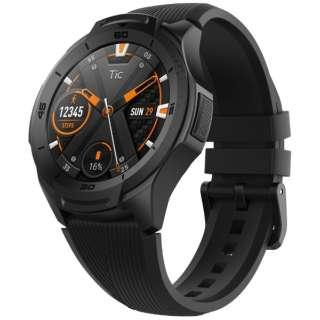 WG12016 スマートウォッチ TicWatch S2 黒