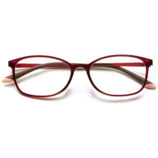 自分の目でピントを探すシニアグラス PINT GLASSES PG-707-RE(レッド)