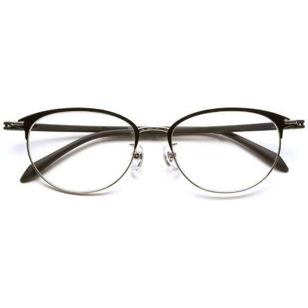自分の目でピントを探すシニアグラス PINT GLASSES PG-709-BK(ブラック)