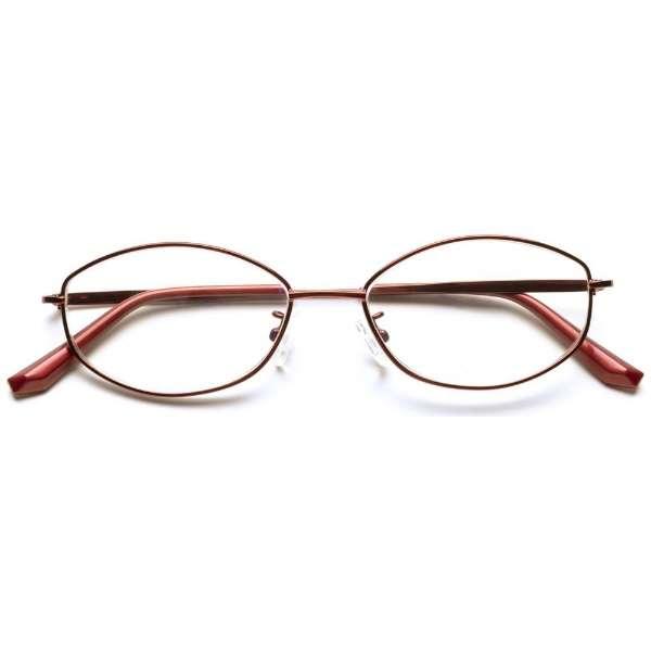 自分の目でピントを探すシニアグラス PINT GLASSES PG-703-RE(レッド)