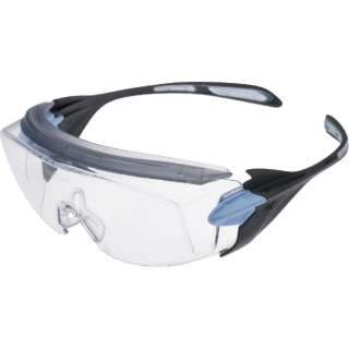 ミドリ安全 ミドリ安全 小顔用タイプ保護メガネ オーバーグラス VS-303F ブルー VS-303F-BL
