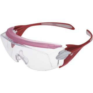 ミドリ安全 ミドリ安全 小顔用タイプ保護メガネ オーバーグラス VS-303F ピンク VS-303F-PK