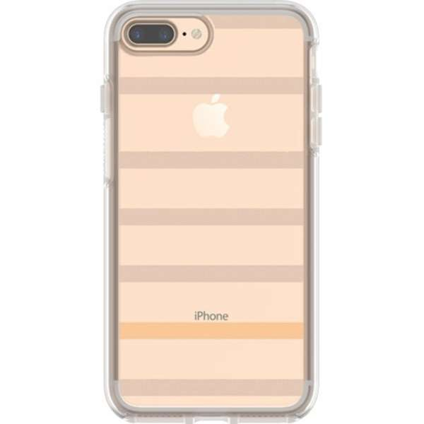 OtterBox Symmetry Clear Series for iPhone 8 Plus and iPhone 7 Plus 77-56918 Inside The Lines