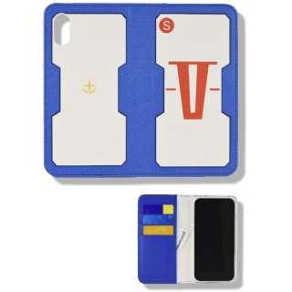機動戦士ガンダム iPhoneXR対応フリップカバー V作戦
