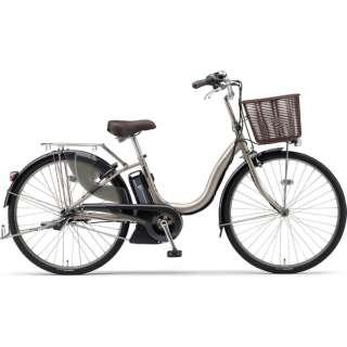 【単品購入時メーカー直送】26型 電動アシスト自転車 PAS ナチュラXL リミテッド(アッシュゴールド/内装3段変速) PA26DGLC8J【2019年モデル】 【組立商品につき返品不可】
