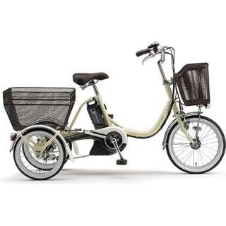 【電動アシスト付き】 18/16型 電動アシスト自転車 PAS ワゴン(アイボリー/内装3段変速) PA16W【2019年モデル】 【組立商品につき返品不可】