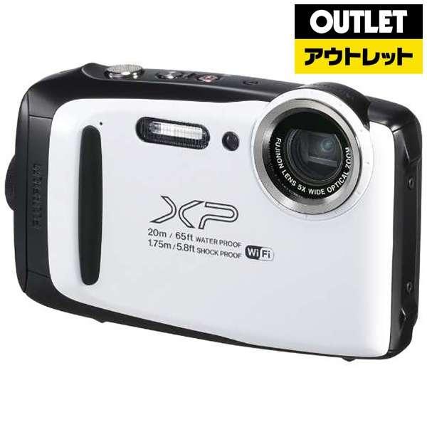 【アウトレット品】 XP130 コンパクトデジタルカメラ FinePix(ファインピックス) ホワイト [防水+防塵+耐衝撃] 【生産完了品】
