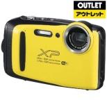 【アウトレット品】 XP130 コンパクトデジタルカメラ FinePix(ファインピックス) イエロー [防水+防塵+耐衝撃] 【生産完了品】