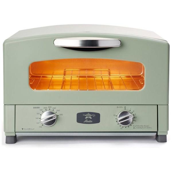 オーブントースター アラジングラファイトトースター グリーン CAT-GS13B/G