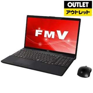 【アウトレット品】 FMVA53C2B ノートパソコン LIFEBOOK(ライフブック) ブライトブラック [15.6型 /intel Core i7 /HDD:1TB /メモリ:8GB /2018年7月モデル] 【外装不良品】