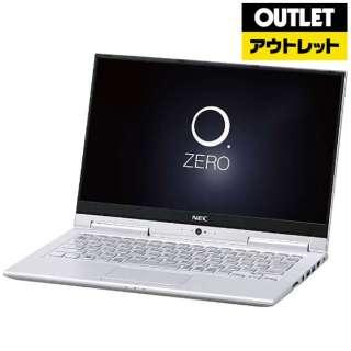 【アウトレット品】 13.3型ノートPC [Office付・Core i7・SSD 256GB・メモリ 8GB] LAVIE Hybrid ZERO PC-HZ750GAS ムーンシルバー 【外装不良品】