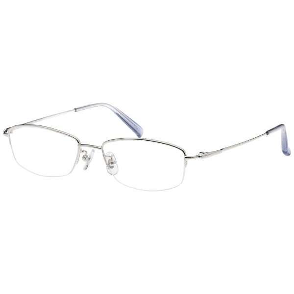 【度付き】airNium-Zero メガネセット(シルバー)AZ4-1009-1 SV[薄型/屈折率1.60/非球面/PCレンズ]
