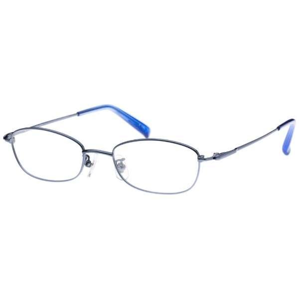 【度付き】airNium-Zero メガネセット(ライトブルー)AZ4-1012-2 LBL[超薄型/屈折率1.67/非球面]