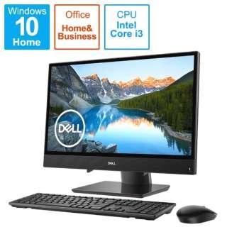 21.5インチデスクトップPC[Office付き・Win10・インテル Core i3-8145U・16GB インテル Optane メモリー+1TB/HDD5400回転・メモリ4GB] Inspiron 22 3000 3280 ブラック