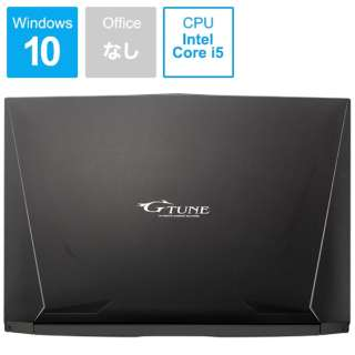 G-TUNE ゲーミングノートパソコン ブラック BC-15GNI84M2H1R26-184 [15.6型 /intel Core i5 /HDD:1TB /SSD:256GB /メモリ:16GB /2019年3月モデル]