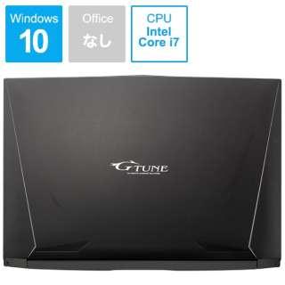 G-TUNE ゲーミングノートパソコン ブラック BC-15GNI87M5H1R26-184 [15.6型 /intel Core i7 /HDD:1TB /SSD:512GB /メモリ:16GB /2019年3月モデル]