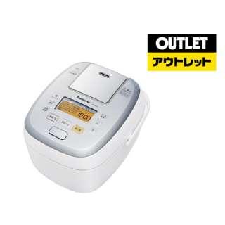 【アウトレット品】 SR-PA107-W 炊飯器 可変圧力おどり炊き ホワイト [5.5合 /圧力IH] 【外装不良品】