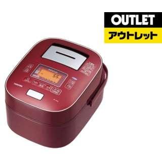 【アウトレット品】 RC-10VXL-RS 炊飯器 圧力+真空 合わせ炊き ディープレッド [5.5合 /圧力IH] 【外装不良品】
