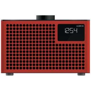 ブルートゥーススピーカー Geneva Acustica Lounge Radio 875419016849JP レッド [Bluetooth対応]